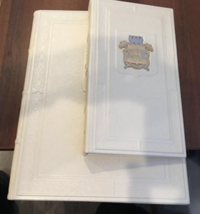Набор кожа визитница папка герб челябинск