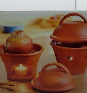 Аромо-лампа, Мини-печь для яблок.