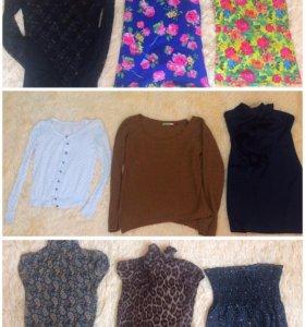 Пакет фирменной женской одежды xs