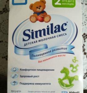 Similac 2 молочная смесь 350 гр