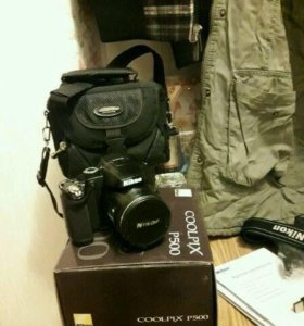 Фотоаппарат цифровой Nikon Coolpix P500