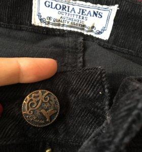 Вельветовые джинсы Gloria Jeans