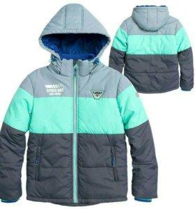 Куртка д/м новая 152 см