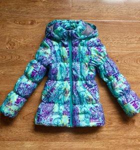 Куртка для девочки 116см