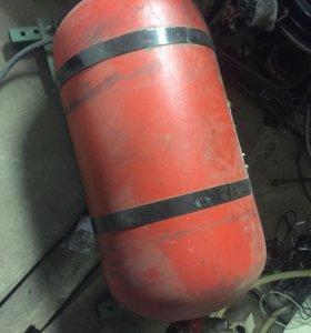 Газ оборудование на легковой МЕТАН