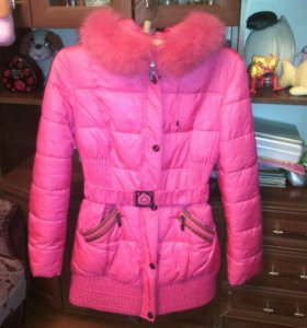 Куртка зимняя цвет насыщенней чем на фото