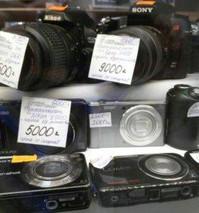 Фотоаппараты б/у