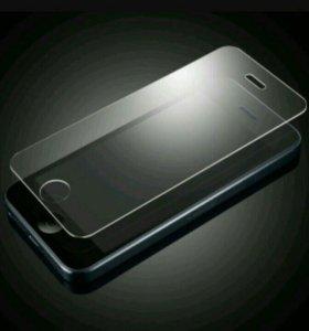 Защитные стекла на iphone 5/5s, 6/6s, 7