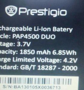 Аккумулятор prestigio pap4500 duo