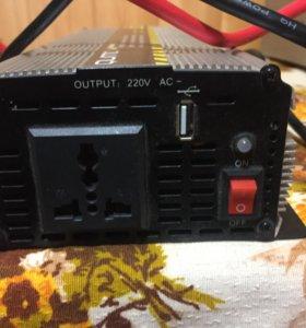 Преобразователь напряжения с12 на 220 вольт, 800в