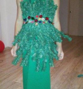 Платье новогоднее ( елочка)