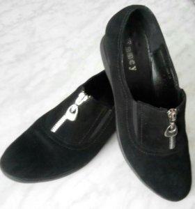 Туфли замшевые,осении