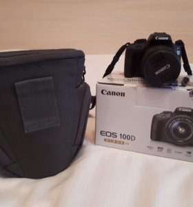canon eos 100D +EF-S 18-55 lll Kit