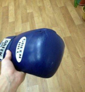 Боксерские перчатки Green Hill super star