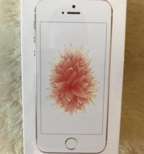 iPhone se 32 gb новые Гарантия Ростест+чехол
