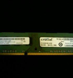 Crucial ram 4gb ddr3 12800