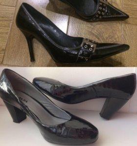 Туфли р.37 Палада и р.36 Mascotte нат.кожа