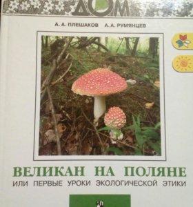 """Книги """"Зелёные страницы"""", """" Великан на поляне"""""""