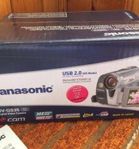 Panasonic NV-GS35 GC полный комплект