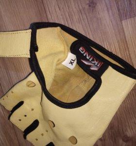 Кожаные перчатки viking