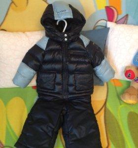 Куртка Armani (оригинал) и полукомбинезон babygo!