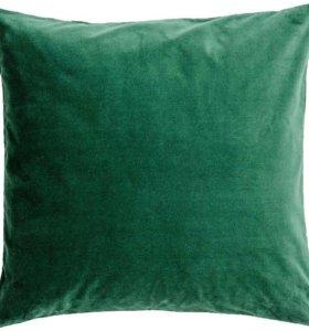 Бархатный чехол на подушку