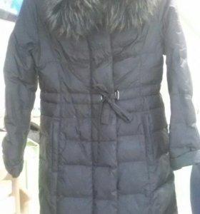 Пальто стегонное демисезонное