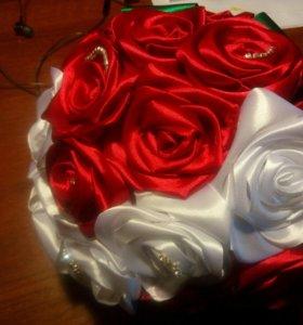 Подарок Букет цветов свадебный на праздник невесты