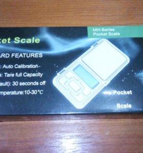 Весы 100 грамм MH-100 Pocket Scale