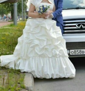 Свадебное платье 48-52 размера