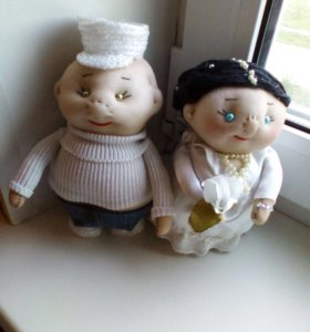 Куклы ручной работы . Обереги домашнего очага.