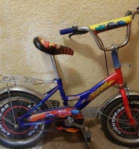 Детский велосипед Mustang 16 тачки