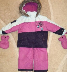 Зимний костюм для девочки Krickets Snobug