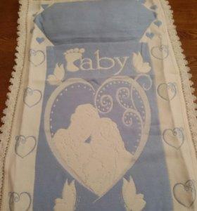 Новый детский комплект одеяло с подушкой