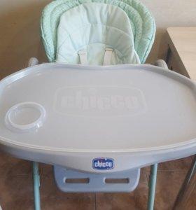 стульчик для кормления chicco polly magic