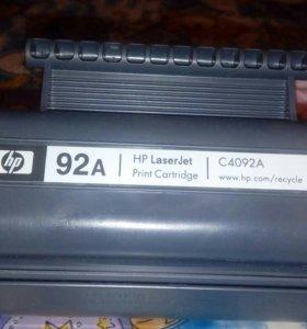 Картридж новый к лазерному принтеру