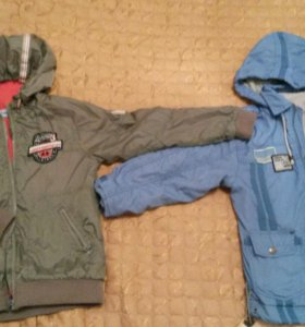 Куртки на флисе р.122-128