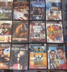 Sony Playstation 2 +карта памяти+12 игр