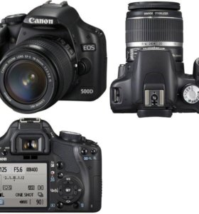 Продам зеркальный фотоаппарат canon 500 d
