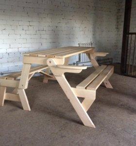 Стол-диван трансформер