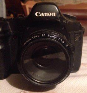 Canon 5D(не марк)+Canon 50mm f1.8   