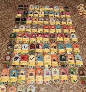 Карточки Миньоны вся коллекция