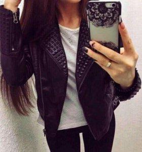 Куртка.Эко-кожа