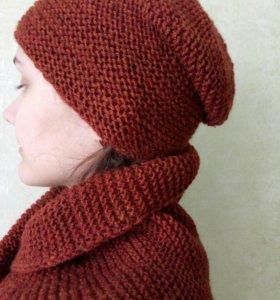 Шапки шарфы