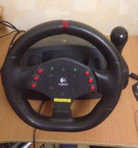 Игровой руль momo