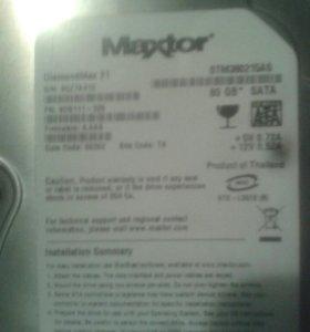 Жесткий диск Maxtor.