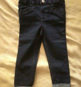 Новые джинсы на ребенка. Размер 92