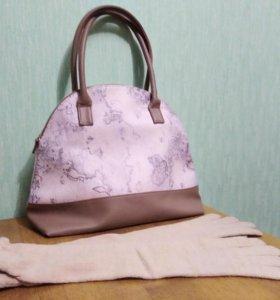 Новая сумка + перчатки в подарок!
