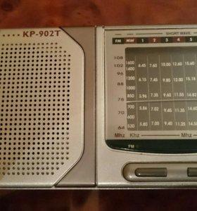 Дорожный радиоприемник KPE (KP-902 T)