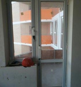 Металопластиковые окна и двери.